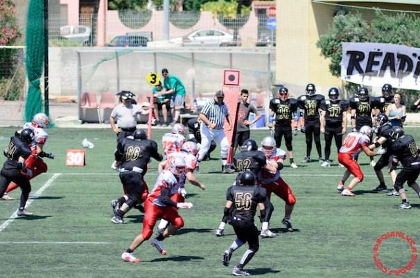 Crusaders Cagliari vs Dragons Salento, 48-0, 29 maggio 2011 73