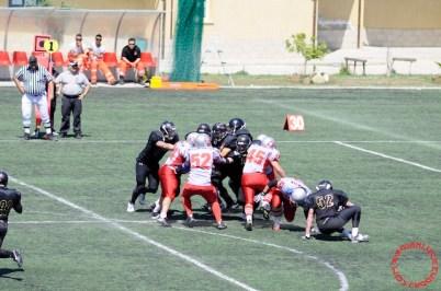 Crusaders Cagliari vs Dragons Salento, 48-0, 29 maggio 2011 81