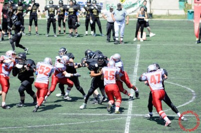 Crusaders Cagliari vs Dragons Salento, 48-0, 29 maggio 2011 91