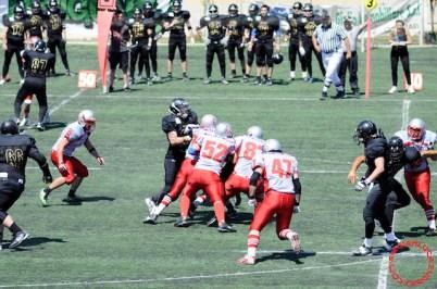 Crusaders Cagliari vs Dragons Salento, 48-0, 29 maggio 2011 92