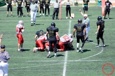 Crusaders Cagliari vs Dragons Salento, 48-0, 29 maggio 2011 93