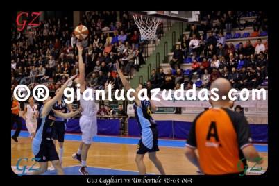 Cus Cagliari vs Umbertide 58-63 063
