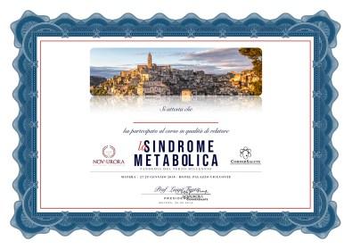"""Simposio Internazionale """"la Sindrome Metabolica"""" Matera, 27-29.05.18"""