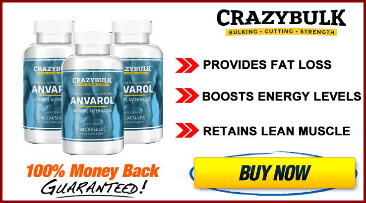 Buy Anvarol from official Crazy Bulk Website