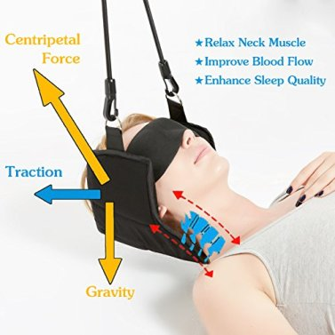 Portable Cervical Traction Device for Neck Pain Relief and Physical Therapy