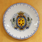 Lion Crest Wall Plate