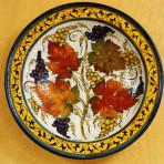 Linea Chianti Round Wall Plate