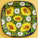 Linea Girasoli Square Plate