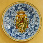Linea Cresta Leone Round Plate