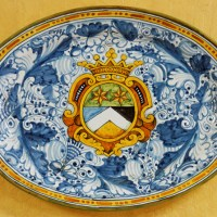 Linea Cresta Oval Platter