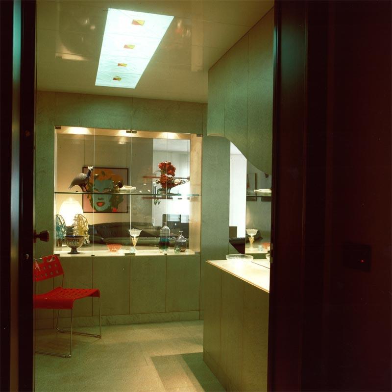 interni casa anni 80