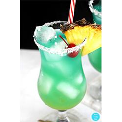 blu hawaii tiki