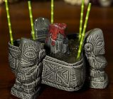 tiki mug tiki mugs cocktail tiki bar headhunter bicchieri tiki