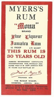 myers's mona daiquiri myer's rum ricetta don's special daiquiri