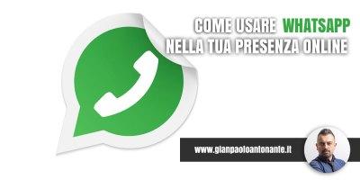 Come usare WhatsApp sul sito web
