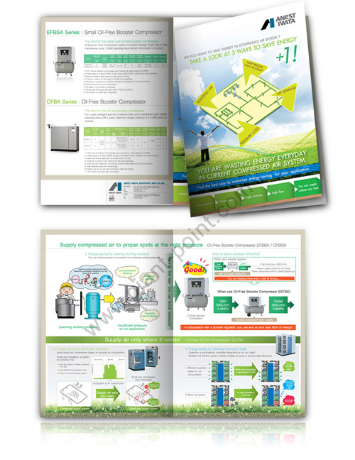 brochure design anest