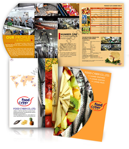 brochure design foodcyber