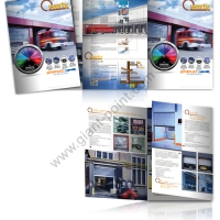 brochure design qwerty