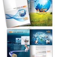brochure design as