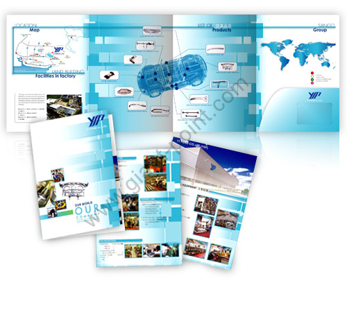 brochure design yspound