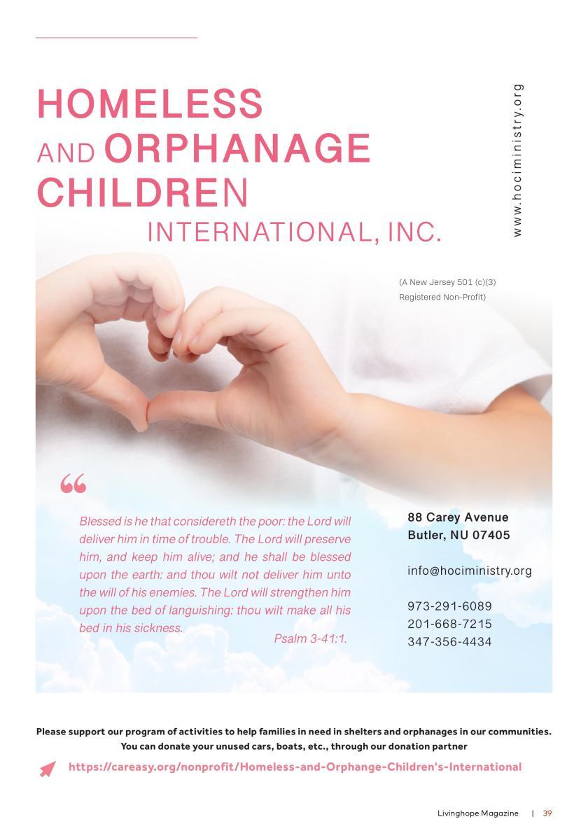 Living Hope Magazine Page 39