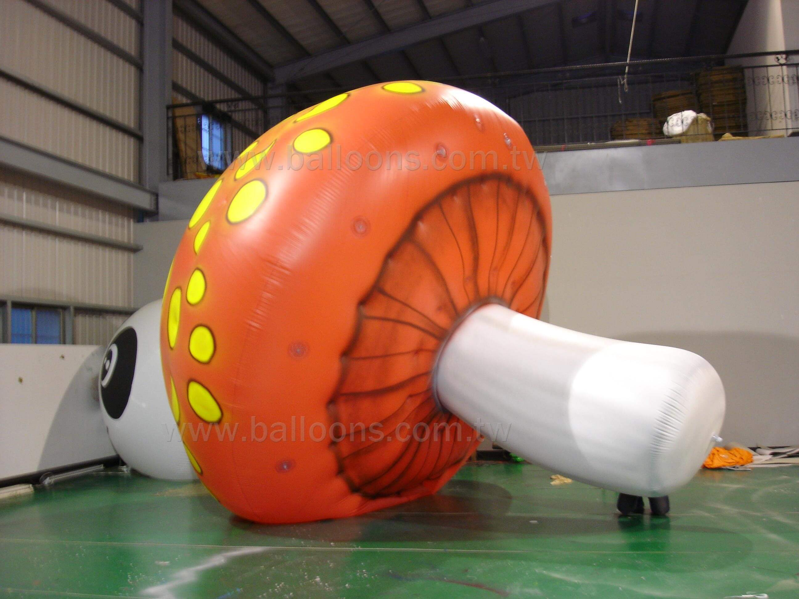 Inflatable mushroom advertising balloon客製香菇造型氣球