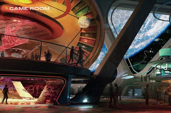 Playboy Club Space Station Casino  Giant Freakin