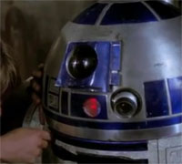 R2D2 Had Another Message For Luke Skywalker | Giant ...