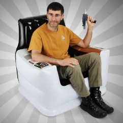 Inflatable Chairs For Adults Kids Wicker Chair The Most Awesome Giant Freakin Star Trek