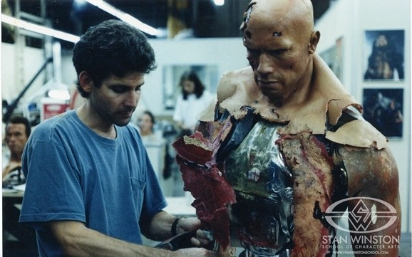 Terminator 2 BehindTheScenes Shots From Stan Winston