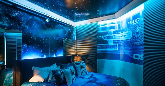 Star TrekThemed Hotel Room In Brazil Well See You There