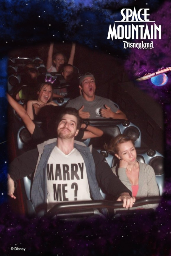 Space Mountain And Marriage Proposals Make A Fine