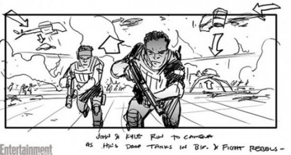 These Terminator: Genisys Storyboards Show A Man Versus
