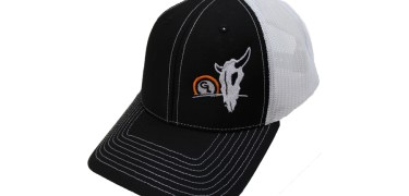 Giant Loop Baseball Hat with Cow Skull & Sunset Graphic