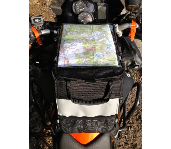 Kiger Tank Bag with big map pocket
