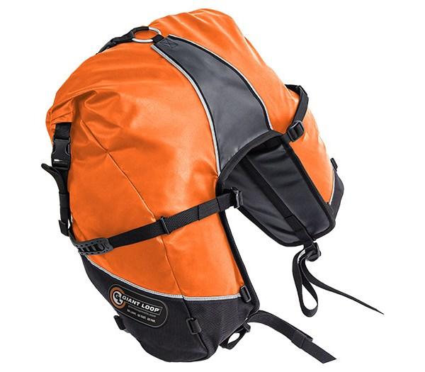 GBSB17-RT-O Great Basin Saddlebag Roll Top Orange