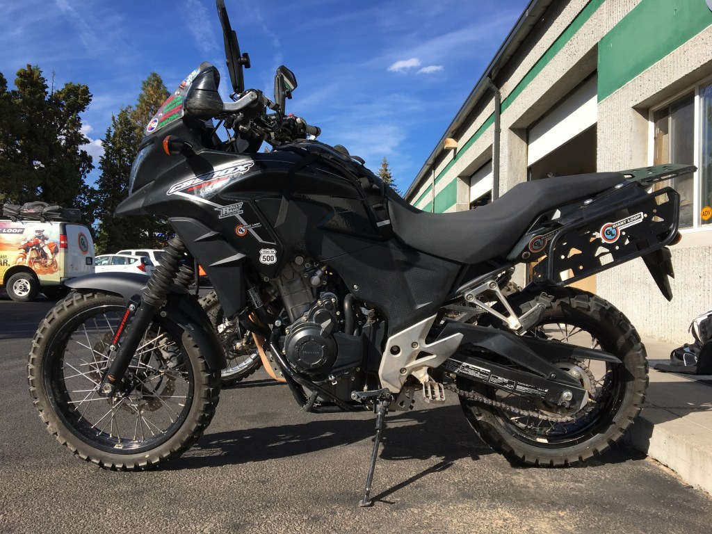 Rally Raid Honda CB500X Adventure