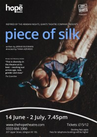 Piece Of Silk Poster
