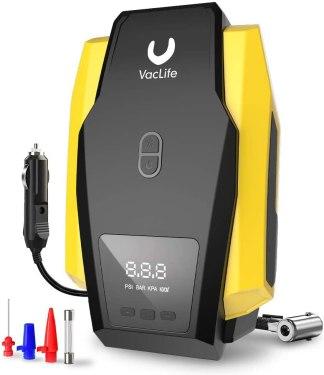 VacLife Air Compressor Tire Inflator