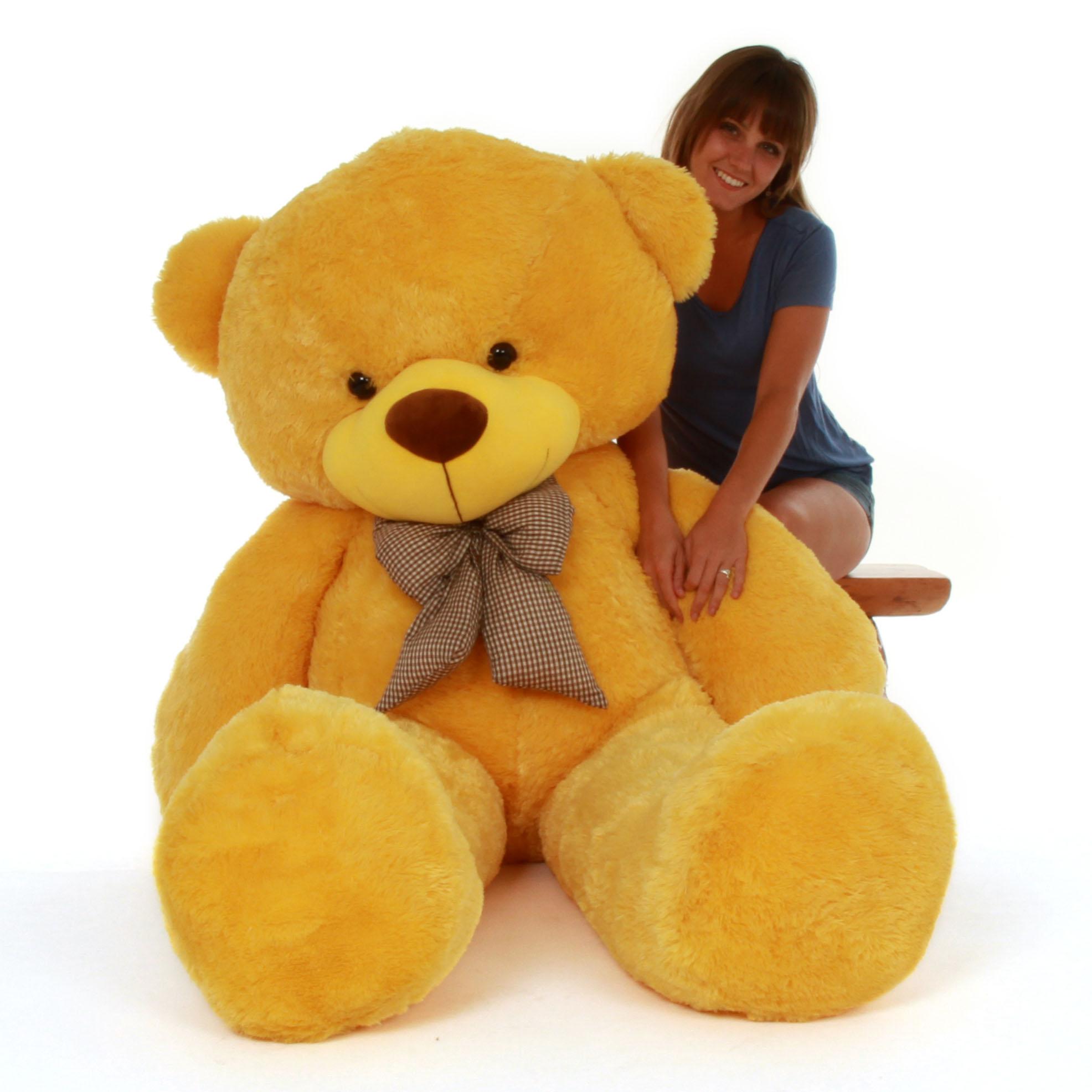 6 Foot Giant Be Mine Valentines Day Teddy Bear Daisy Cuddles