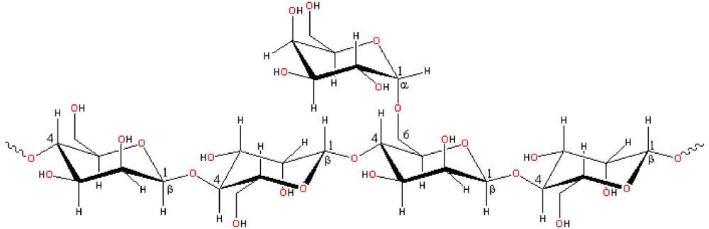 medium resolution of locust bean gum structure chemistry