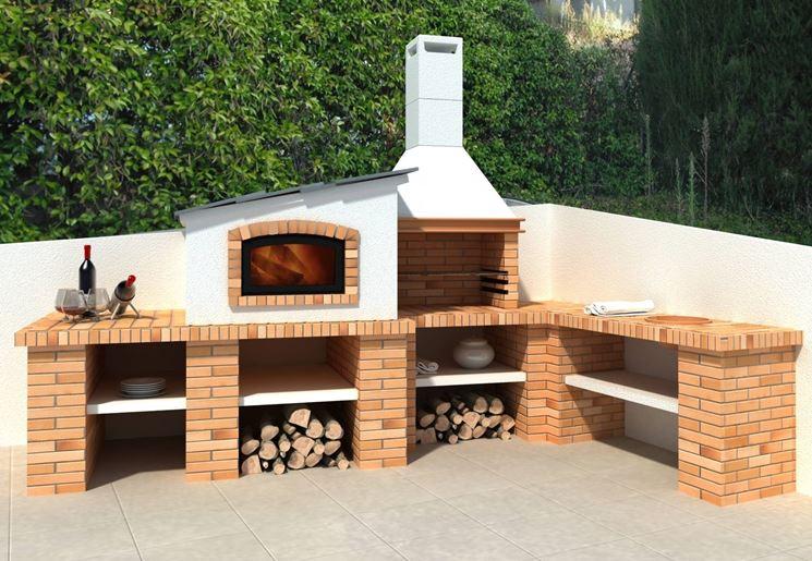 Cucine outdoor per vivere gli spazi esterni della tua casa. Piano Cucina Esterno Il Sito Del Fai Da Te