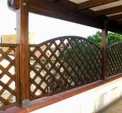 Griglie per terrazzi  Grigliati e Frangivento  Gliglie per il terrazzo