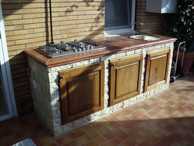 Cucine da esterno  accessori da esterno  Costruire una cucina allesterno