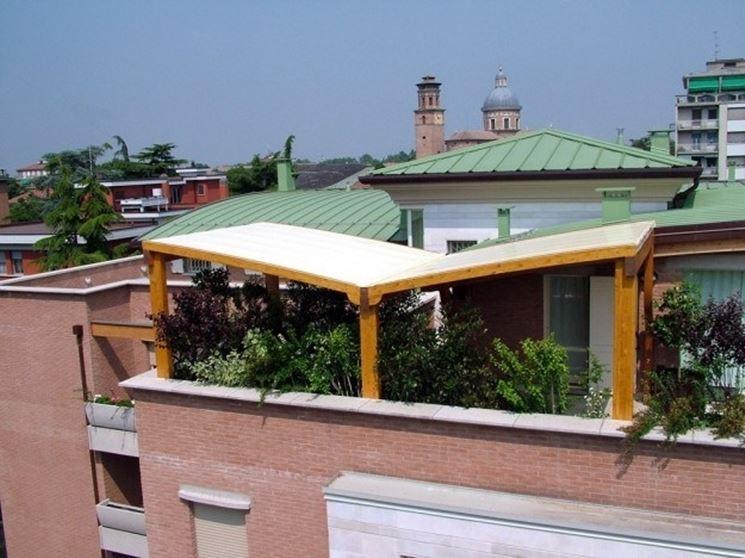 Gazebo Per Terrazzo Ventilato