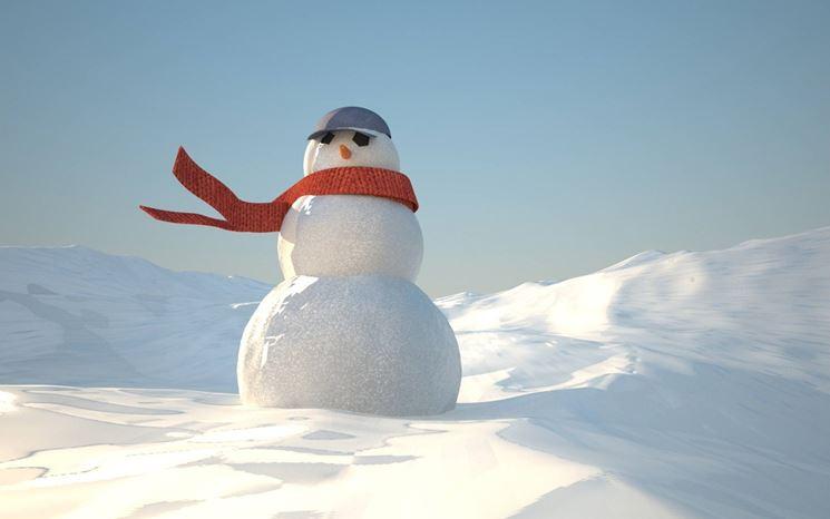 Il pupazzo di neve  albero di natale  Come realizzare un