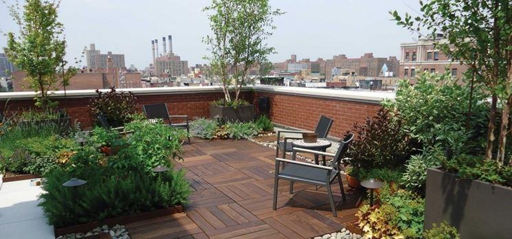 Giardino in terrazzo  Giardino in terrazzo  Come