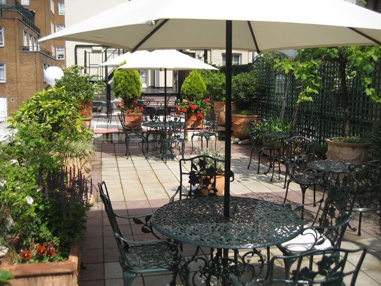 Giardino terrazza  Giardino in terrazzo  Progettare la terrazza giardino