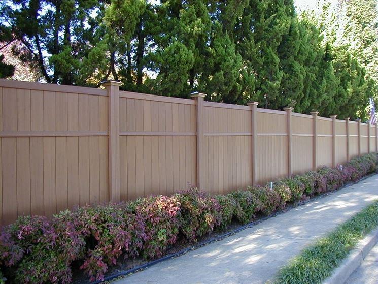 Recinzioni in pvc  Recinzioni  Tipologie di recinzioni