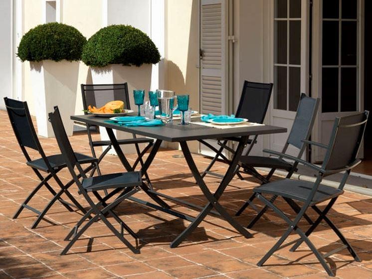 Tavoli pieghevoli da esterno  Tavoli da giardino  Tavoli da esterno pieghevoli